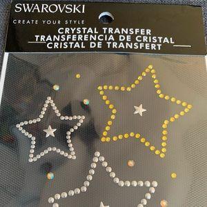 Swarovski crystal tee shirt transfer